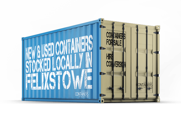 Shipping Containers in felixstowe